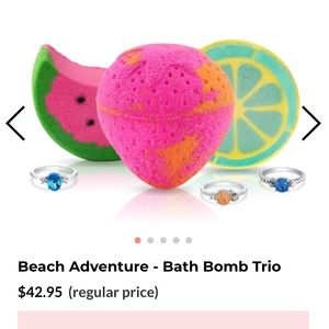 Fragrant Jewels beach adventure set